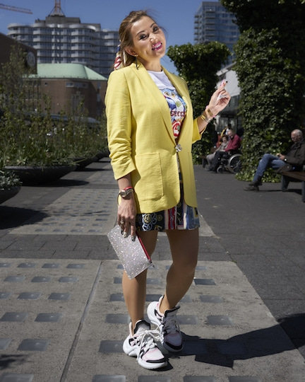 Yellow NRC Street Fashion