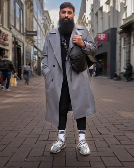 Witte Sokken Street Fashion